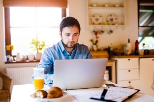 man_working_at_home